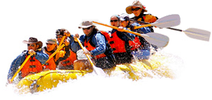 white water rafting in river ganga, rishikesh